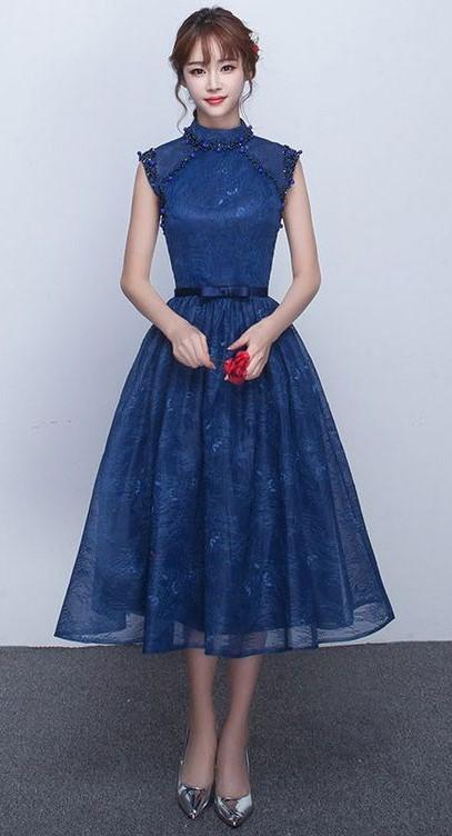 لباس آبی را با چه کیف و کفشی ست کنیم؟